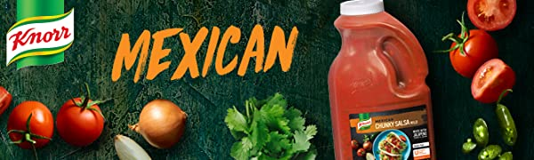 mexican, salsa, knorr, sauce, condiment