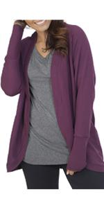 Essentials, French Terry, Cocoon Wrap, Cardigan, ladies, comfy