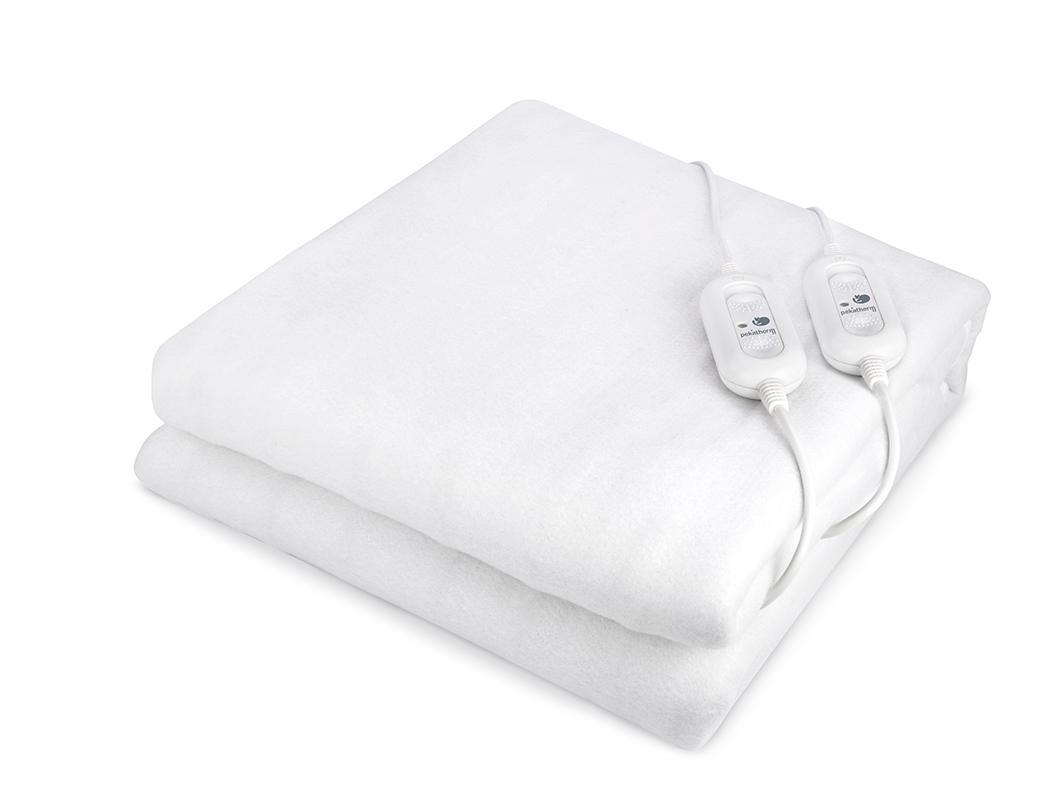 Pekatherm UP205 - Calientacamas doble, 60 W, color blanco: Amazon ...