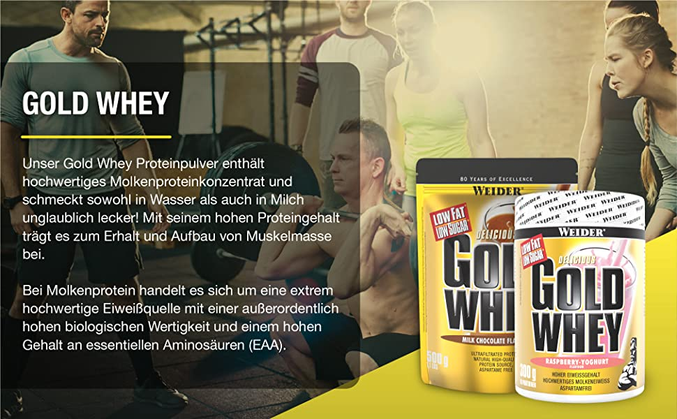 Whey Protein Pulver Isolate