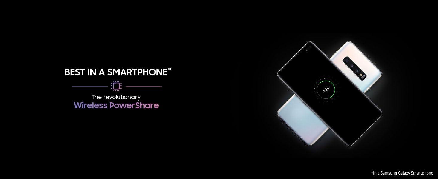 Samsung Galaxy S10 (White, 8GB RAM, 128GB Storage) with No Cost  EMI/Additional Exchange Offers