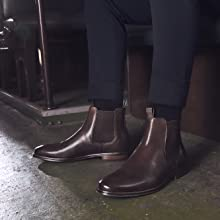 chelsea boots, leather, rm williams, julius marlow, casual, work, dress, technology, mens fashion