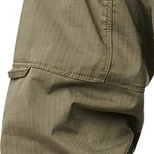 Pen pockets at left sleeve