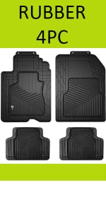 Fit for 05-09 FD Мustang All Weather Rubber Flооr Mats Black NеW 6R3Z-6313300-A