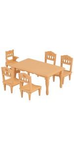 シルバニアファミリー 家具 ダイニングテーブルセット カ-421