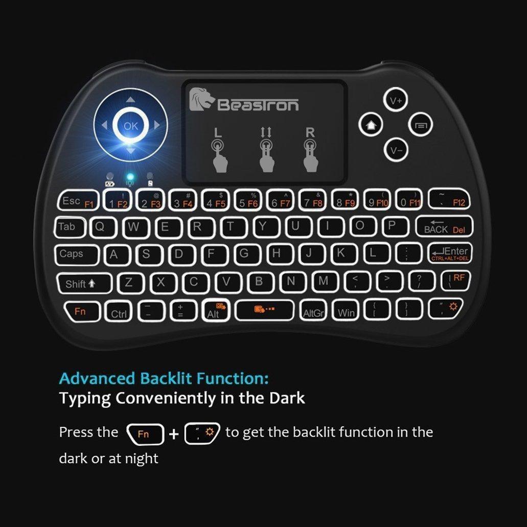 Amazon.com: Beastron Mini Wireless Keyboard with Mouse
