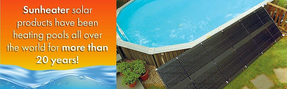 Renewed Smartpool S601P SunHeater Solar Heating System for In Ground Pool