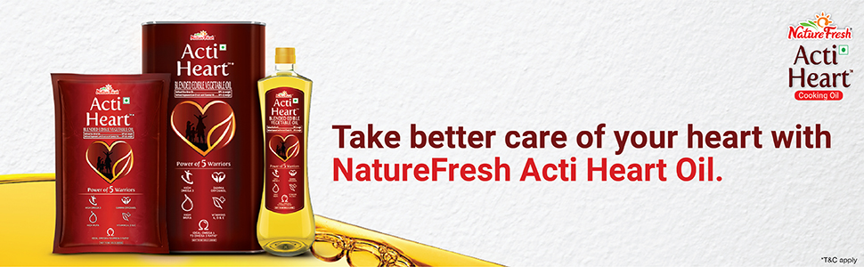 NatureFresh Acti Heart with the power of 5 warriors for complete heart care