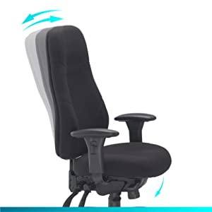 recline demonstration chair