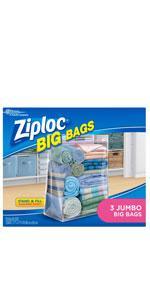 Amazon Com Ziploc Big Bag Double Zipper X Large 4 Count