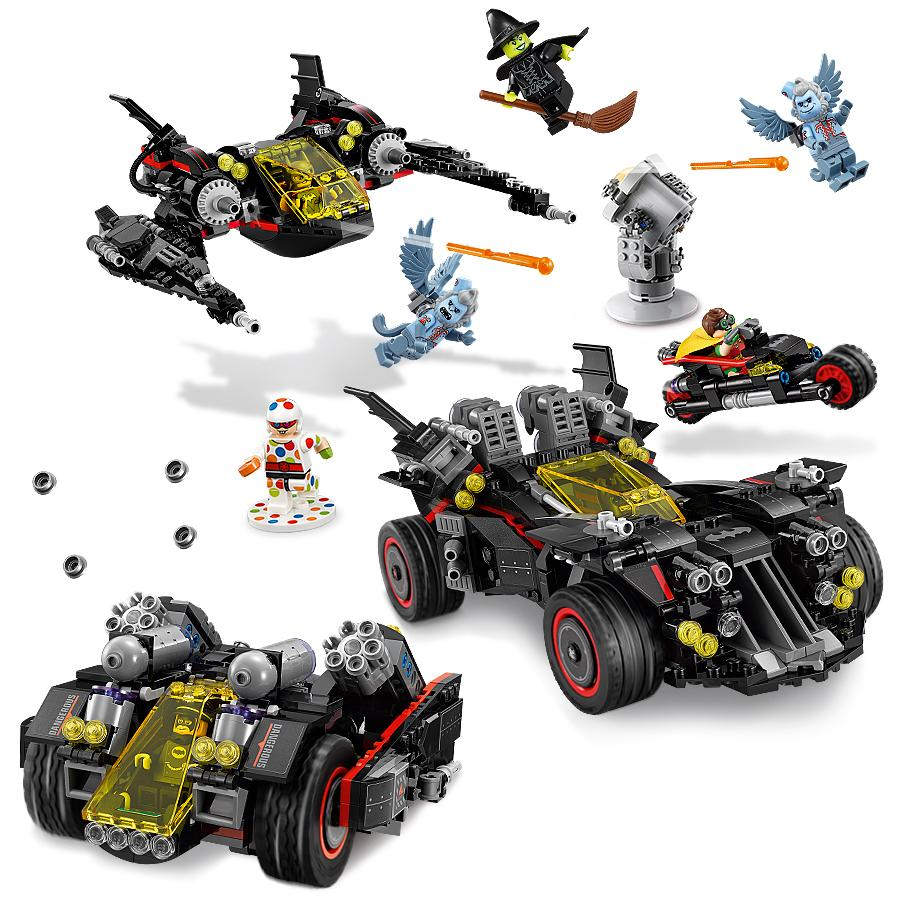 lego batman movie the ultimate batmobile 70917 building kit toys games. Black Bedroom Furniture Sets. Home Design Ideas