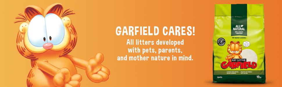 Garfield Cat Litter Tiny; natural cat litter; clumping cat litter