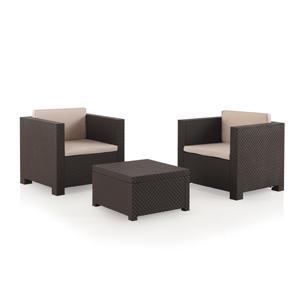 Shaf Conjunto Set Muebles de jardín y terraza Diva à Tête | Color ...