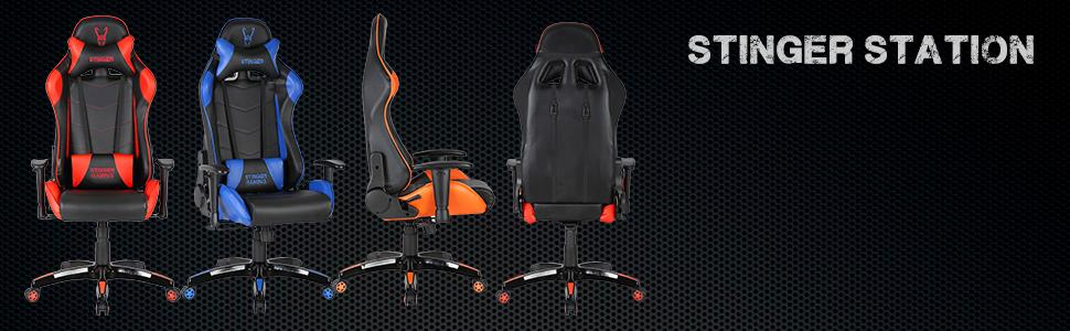 Silla Gaming con altura e inclinación ajustable