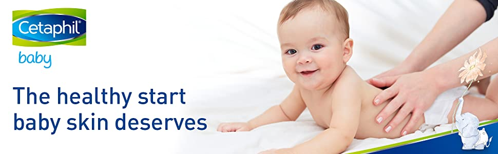 Cetaphil Baby gives your little one the healthy start their skin deserves