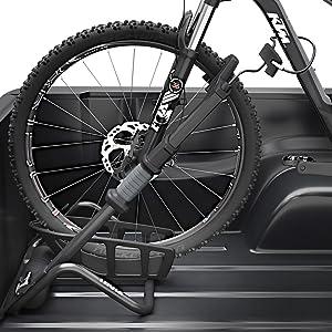 Locking bike rack, truck bed bike rack, thule bike rack, locking truck bed bike rack, thule bike