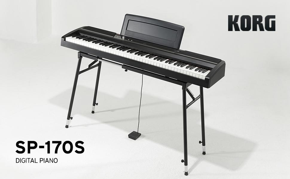 KORG SP-170S-BK