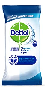 Dettol Antibacterial Surface Cleaning Wipes 252 Wipes