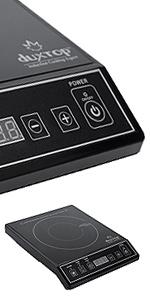 Amazon.com: DUXTOP vitrocerámica con sensor tá ...