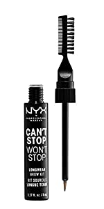 can't stop won't stop longwear brow kit, nyx, NYX Professional