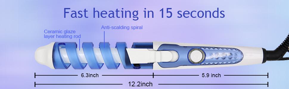 360° anti-winding tail