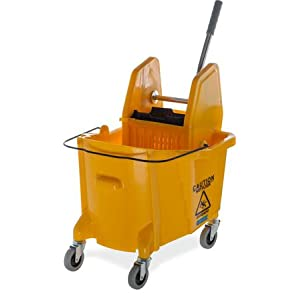 Mop bucket, side-press mop bucket, down-press mop bucket, cleaning bucket, wringer bucket