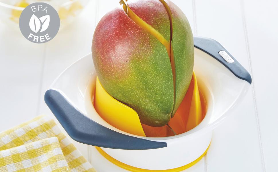 Mango Tool, Cut Mango, Remove Mango Stone, Zyliss, BPA Free