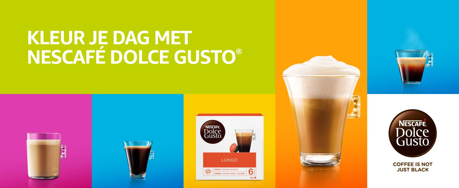 koffie, Nescafe, Dolce Gusto, koffie cups, koffiecups, lungo,