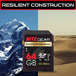 Resilient Construction SDXC Memory Card