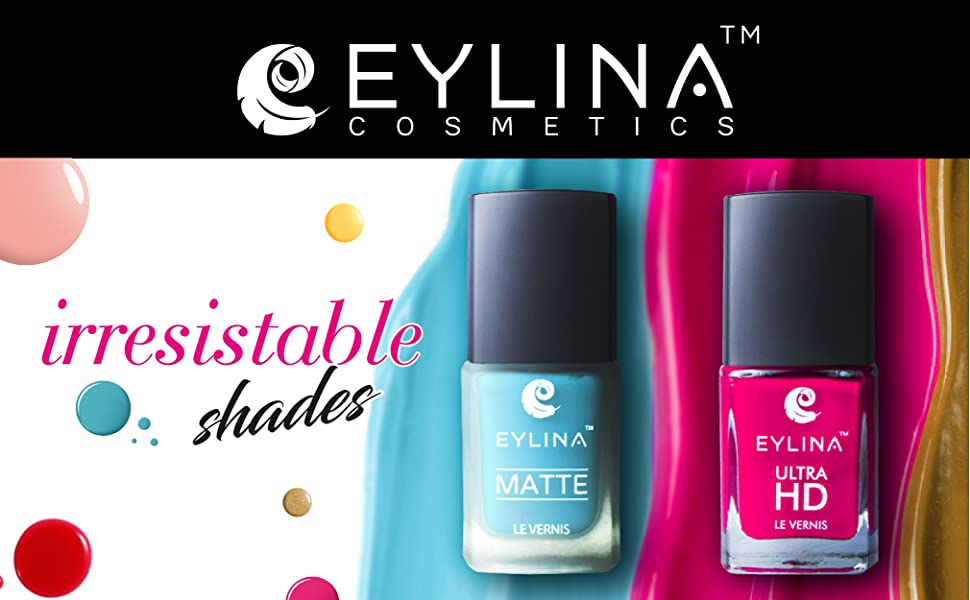 Eylina Irresistible Nail shades