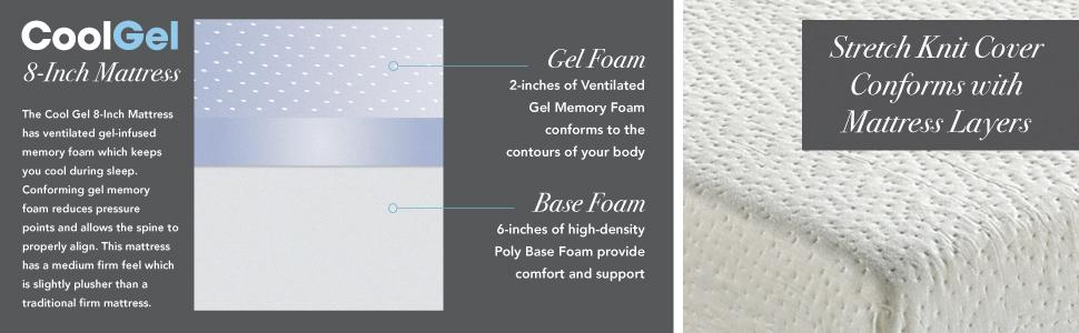 cool gel memory foam mattress best mattress keep you cool
