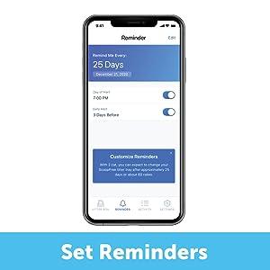 set reminders