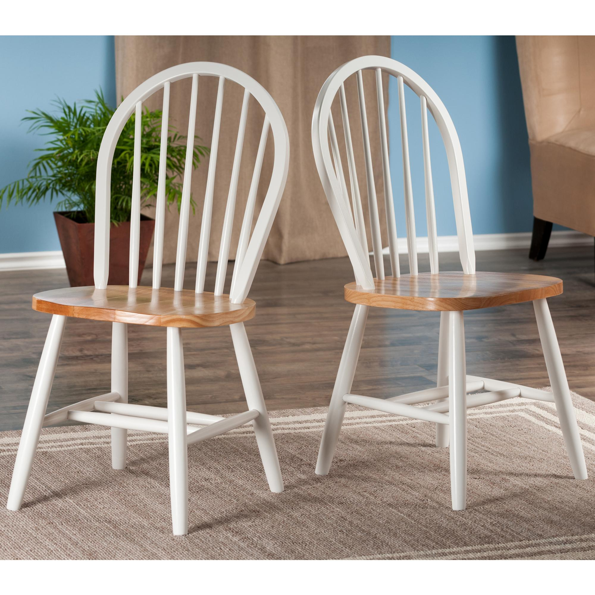 Winsome Wood Assembled 36-Inch Windsor Chairs