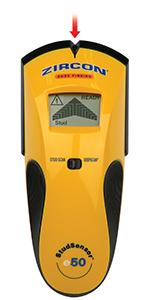 edge finder, lcd screen, e50, sse50, easy, simple, do it yourself, electronic, ac, wirewarning, scan
