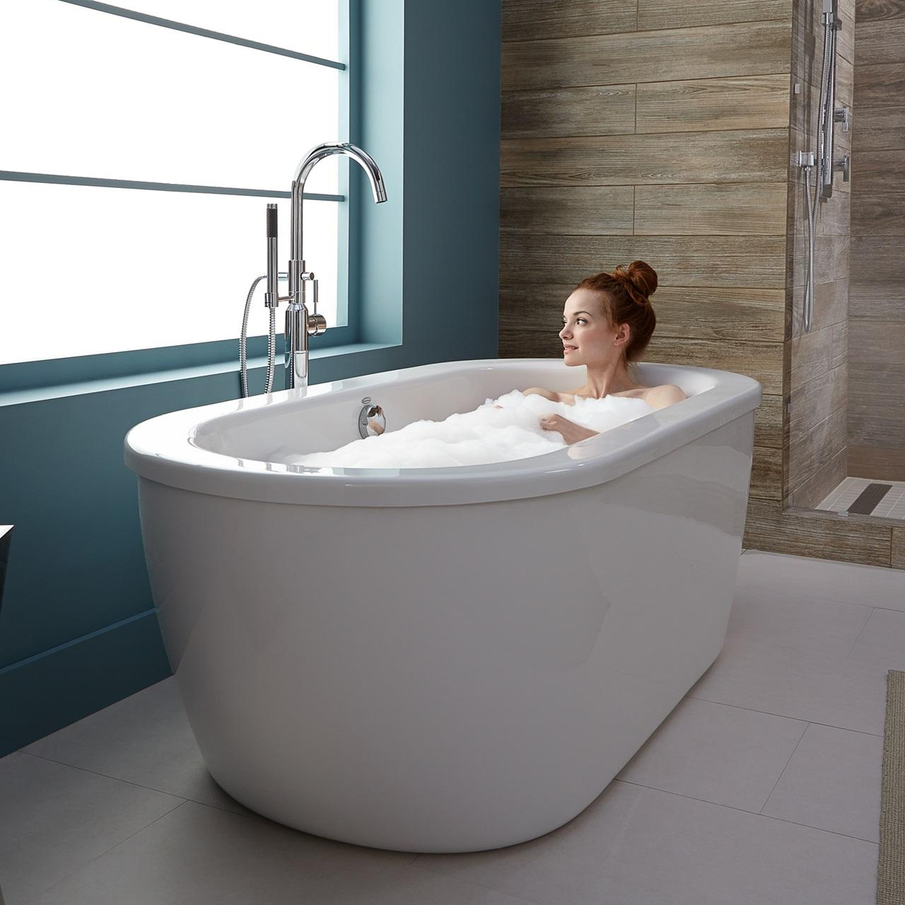 jacuzzi faucet no with drain com pure bathtub reversible whirlpool bravo white tub center freestanding air straight blower and