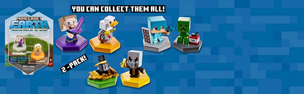 Minecraft Boost Mini Figure