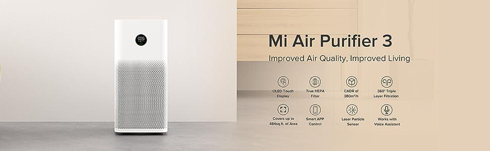 Mi Air Purifier 3, Air Quality, Fight pollution
