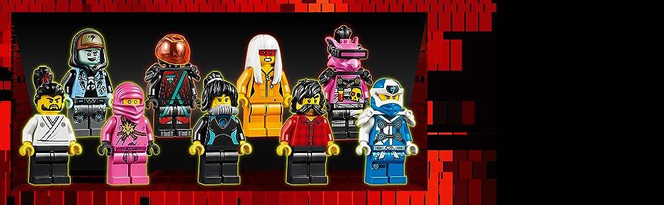 Avatar Harumi LEGO Ninjago: Prime Empire Mini Fig // Mini Figure