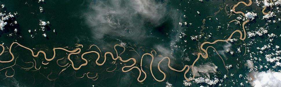 amazônia, foto, espaço
