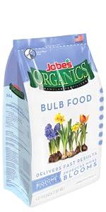 bulb daffodil tulip organic fertilizer slow time release granular