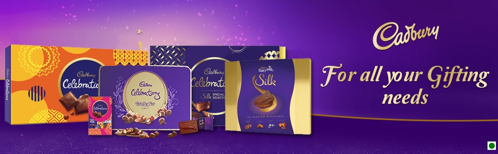 Cadbury Celebration,Chocolate Gift Pack,Dry Fruit Chocolate Gift Pack,Luxury Chocolate Gift Pack