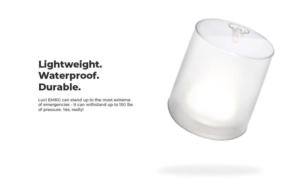 Luci EMRG solar inflatable light