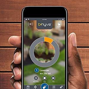 aplicacion movil ios android programador grifo con wifi orbit sym alexa riego automatico saneaplast
