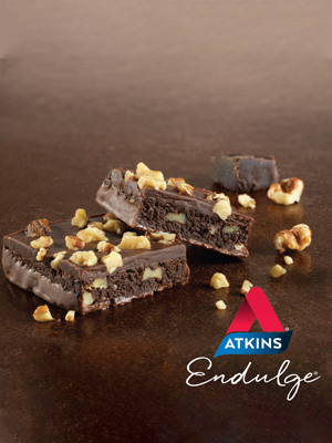 atkins endulge nutty fudge brownie bar low carb keto friendly treat