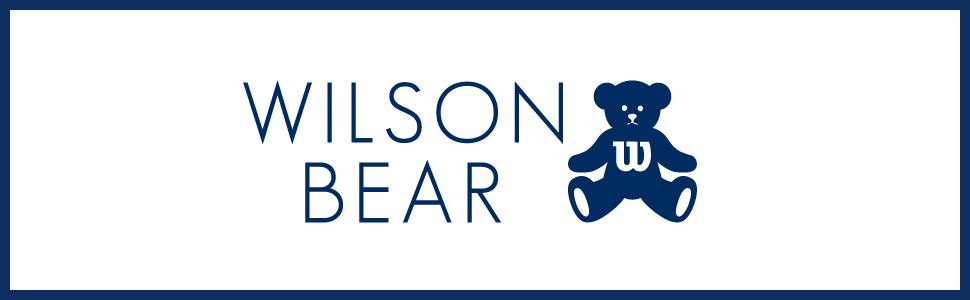 Wilson,bear,tennis、テニスボール、ラケットセット