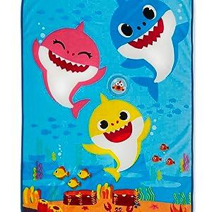 Baby Shark Musical Toddler Blanket