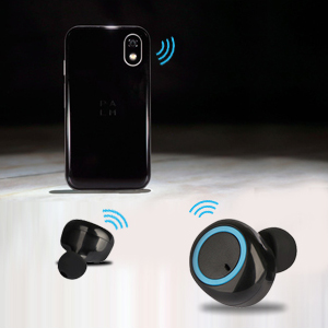 PTron Bassbuds True Wireless Earbuds (TWS), Bluetooth 5.0, Hi-Fi Sound, 3 Hours Music Time