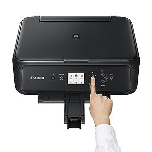 Impresora Multifuncional Canon Pixma Ts5150 Negra Wifi De