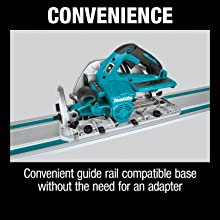 convenience convenient guide rail compatible base without the need fro an adapter