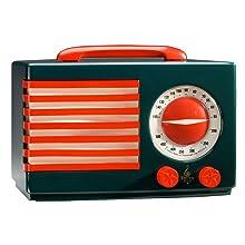 Retro clock radio er100112